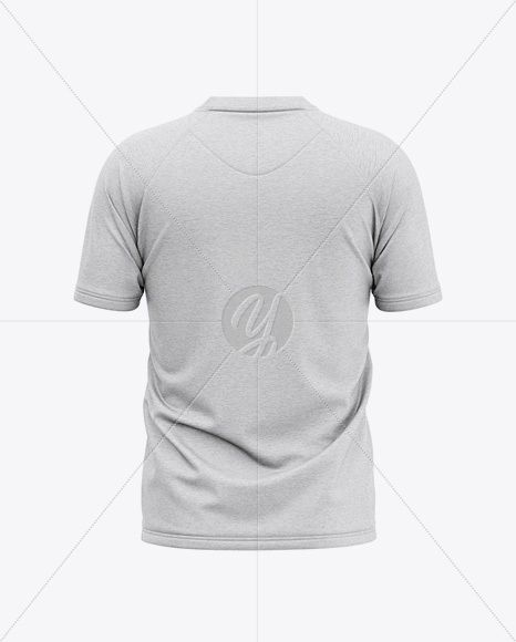 Download Men S Heather Henley Jersey Mockup Back View Of T Shirt In Apparel Mockups On Yellow Images Object Mockups Tshirt Mockup Shirt Mockup Clothing Mockup