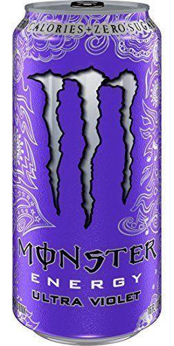 Monster Energy Ultra Violet 16 Ounce Pack Of 24 Monsterenergy Monster Energy Drink Monster Energy Sugar Free Energy Drinks