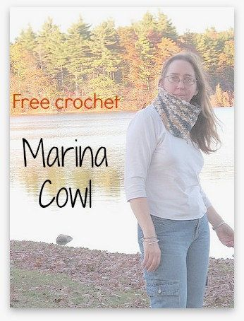 marina cowl  - a new, free, crochet pattern to make a cowl or anything else made in the round like boot cuffs. Pattern comes with directions for worsted weight yarn in two sizes OR a recipe / template to make the cowl using any yarn, any gauge, in any size! #anastaciaknits  http://anastaciaknitsdesigns.blogspot.com/2015/03/marina-cowl-free-easy-crochet-pattern.html