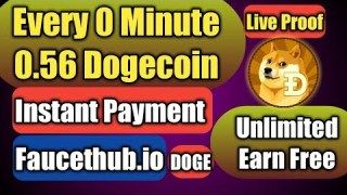 Top Dogecoin Faucet Site 2019||Unlimited Dogecoin with