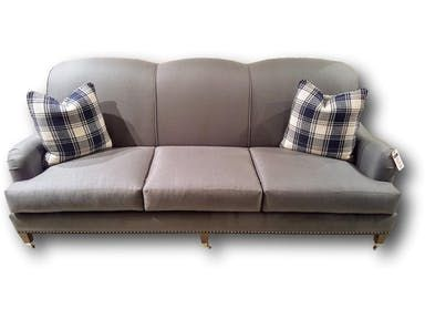 Sofa With Plaid Accent Pillows Plaid Accent Pillows Furniture Outlet Furniture