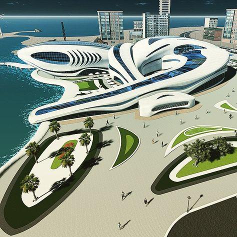 Aquarium project design - meta organic architecture. #elshamy_designs #aquarium #architecture ...