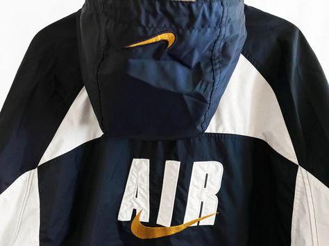 Rare Vintage 90s Nike Air Pullover Windbreaker Jacket Jordan