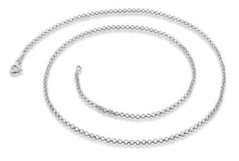 Sterling Silver Oval Bear Claw Necklace Handmade 1 1//8 inch Tall 2mm Cuban Link Chain