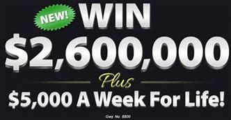 Image result for PCH Win 5000 Every Week for Life | sweepstakes