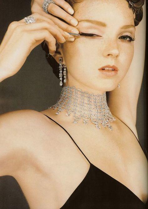 Lily Cole - Vogue UK, december 2007