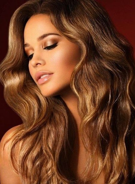 Image Result For Light Brown Hair On Warm Medium Dark Skin Tones Bronze Hair Color Hair Color Pictures Light Hair Color