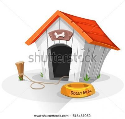 Dogs House Illustration 34 Ideas Dogs House Cool Dog Houses