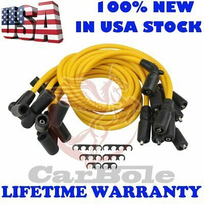 Ad Ebay Set Of 9 8mm Spark Plug Wire Set For Tahoe Savana Express