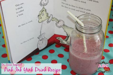 Dr. Seuss Pink Ink Yink Drink