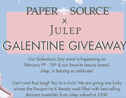 Win a Julep Passport to K-Beauty Vault  This promotion is