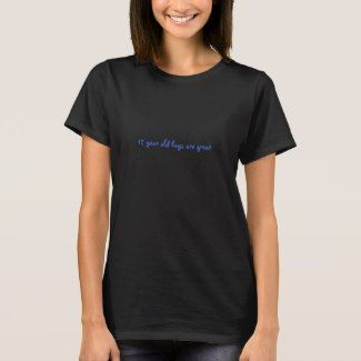 17 Year Old Boys Are Great Women S T Shirt Black Zazzle T
