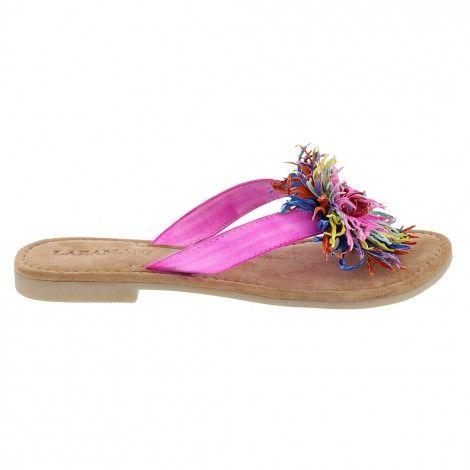 Teva Encanta slide slippers dames tan | Slippers, Sandalen ...