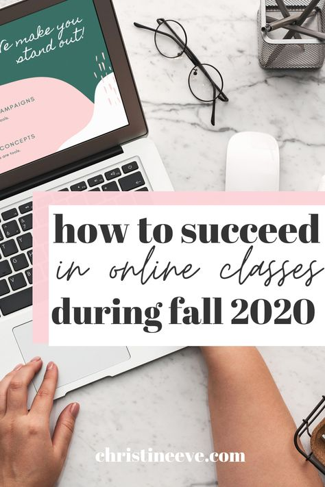 How to Succeed in Online Classes this Fall