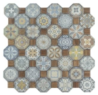 View The Affinity Tile Fostes W Tesseract 12 1 4 Sheet Octagon Dot Mounted Floor And Wall Tile Smooth Wo Ceramic Floor Ceramic Mosaic Tile Decorative Tile