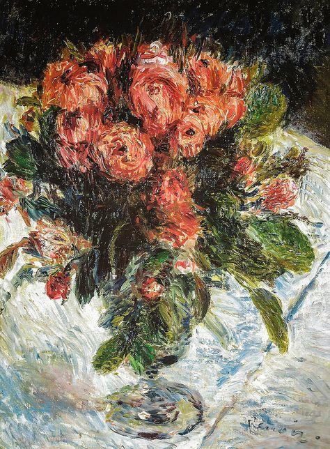 Pierre Auguste Renoir - Roses, 1890