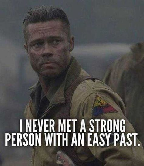 I never met a strong person with an easy past   I never met a strong person with an easy past    -- Delivered by Feed43 service