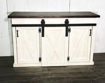 Kitchen Island With Sliding Barn Door Barn Door Cabinet Barn Door Furniture Sliding Cabinet Doors