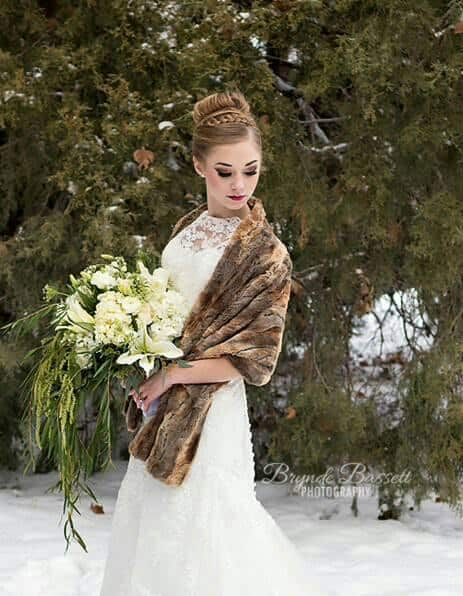 Wedding Fashion Faux Fur Wraps For Bridesmaids Brides Faux Fur Wrap Bride Fur Wrap