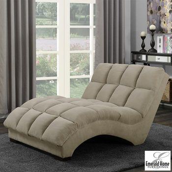 Boylston Fabric Double Chaise Lounger Chaise Lounger Furniture