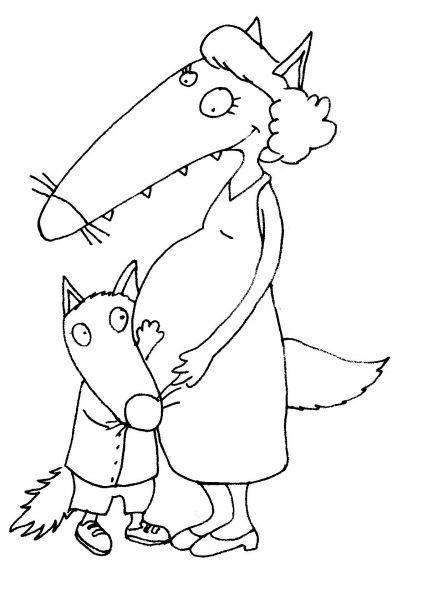Epingle Sur Activite Loup Et P Tit Loup