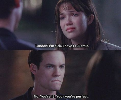 The saddest scene of A walk to remember