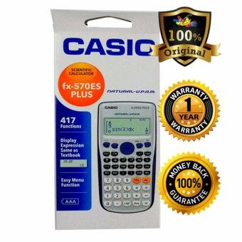 Shop Online Casio Scientific Calculator FX-570ES PlusOrder