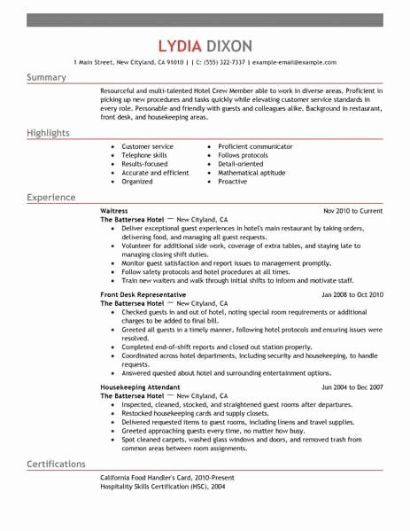 Mcdonalds Job Description Resume Inspirational Crew Member Resume Sample No Experience Resumes In 2020 Resume Examples Basic Resume Examples Visual Resume