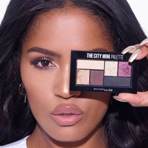 1bfdff48277 Discover 3 volumizing, colored mascaras & a bold mini eyeshadow palette by MakeupShayla  X Maybelline. Slay with this limited-edition eye makeup collection.