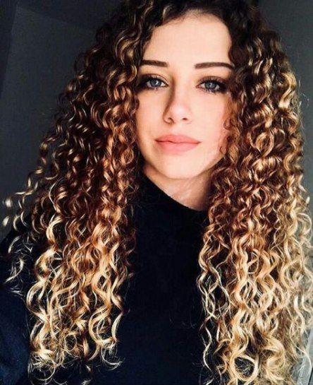 61 Trendy Ideas Hairstyles Long Thin Curls Curly Hair Styles Long Hair Styles Curly Hair Styles Naturally