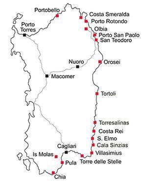Gegenden In Sardinien In Sardinien Sardinien De My Traveling