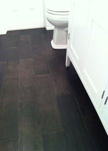 New Kitchen Dark Floor Bath Ideas Wood Tile Bathroom Faux Wood