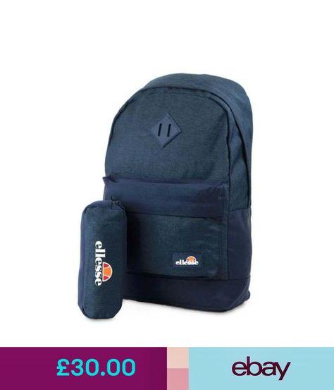 e65e3c0c35de ELLESSE Fonza Backpack Navy School Bag SHAU0484 - FREE PENCIL CASE ...