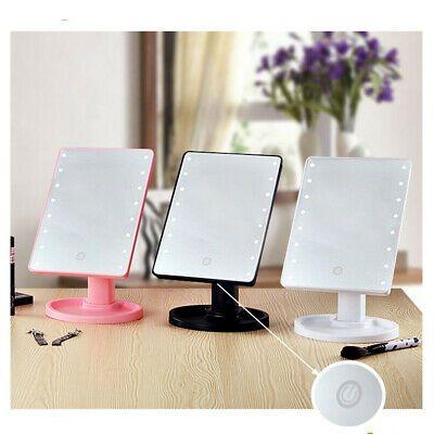 Advertisement Cosmetic Illuminated Desktop Stand Makeup Mirror