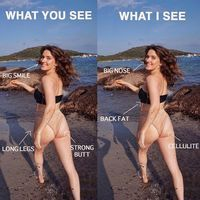 Woman's Photo About Not Focusing on Your Flaws | POPSUGAR Fitness