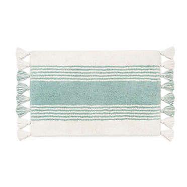 Ugg Napa Yarn Dyed Stripe Shower Curtain In Agave Bath Rug Bath Rugs Striped Shower Curtains