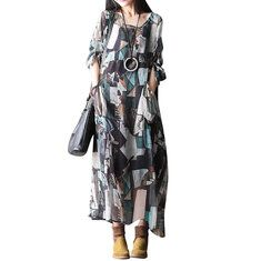 6355055610 Hot-sale O-Newe Plus Size Women Loose Long Sleeve Denim Dress - NewChic  Mobile
