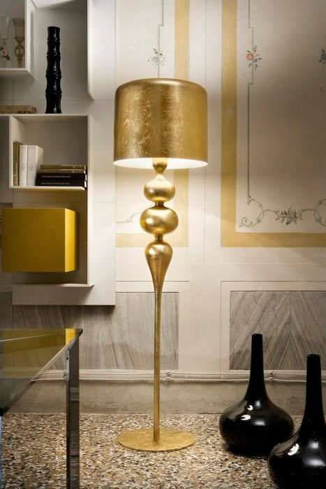 Midas Touch Lighting Eva Gold Lamp Gold Floor Lamp Lamp Floor Lamp