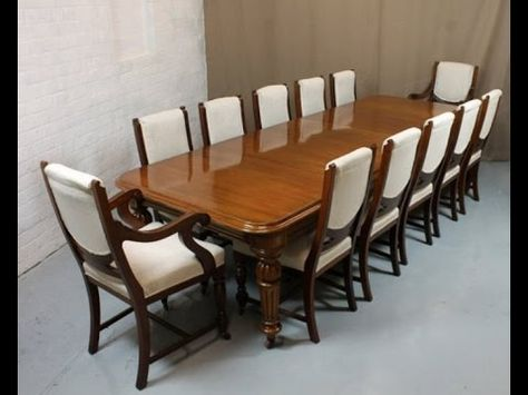 Dining Room Tables For 12 People Table Size