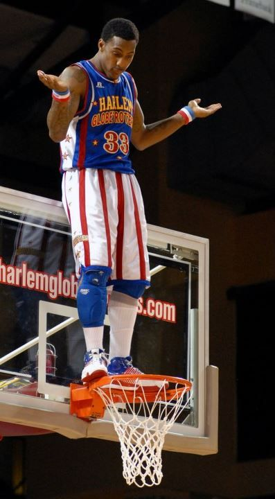 If jumping OVER the rim is one of your goals, you'll probably need #33 Bull Bullard's jersey to do it.  Get Bull's jersey here!