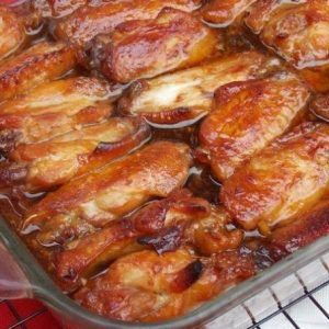 Caramelized Chicken Wings