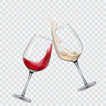 Set Transparent Glasses With White And Red Wine Wine Glass Set Png And Vector With Transparent Background For Free Download Tacas De Vinho Logotipo De Vinho Manchas De Vinho