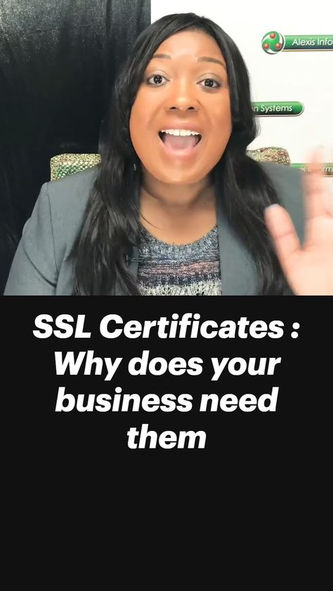 SSL Certificates : Why does your business need them