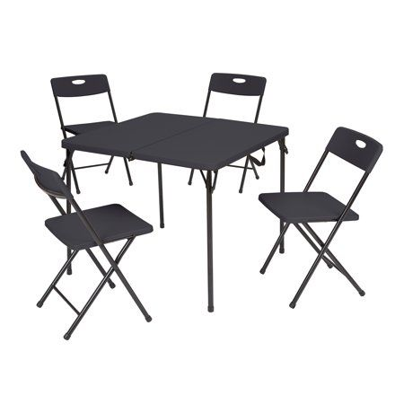 Wal Mart Recalls Card Table Chair Sets After Finger Amputations Card Table And Chairs Card Table Set Table And Chair Sets