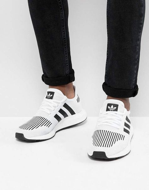 e433ff31e adidas Originals Swift Run Sneakers In White CQ2116