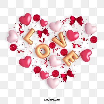 Valentinstag Niedliches Dreidimensionales Liebeselement Valentinstag Herzensliebe Liebe Png Und Psd Datei Zum Kostenlosen Download Valentines Day Clipart Valentine Clipart Valentines Day Background