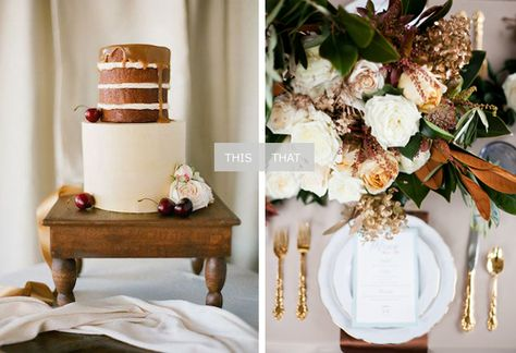 This + That: Natural Browns + Rich Whites | Coastal Bride