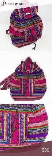 SOLD Handmade Aztec Serape Mexican Backpack Bag Quality hand made by true #Eyes #Eyes #EyeMakeup #Eyeshadow #EyeLiner #WingedEyeLiner #Eyebrows #Brows #BrowsOnFleek #EyeBrowGoals #Eyelashes #Lashes #Mascara #LashesForDays #InstaEyes #SmokeyEye