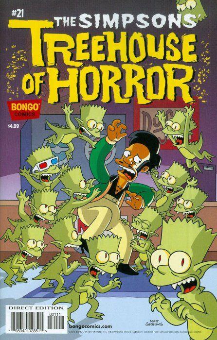 80 Ideas De La Casita Del Horror Los Simpsons Los Simpson Personajes De Los Simpsons