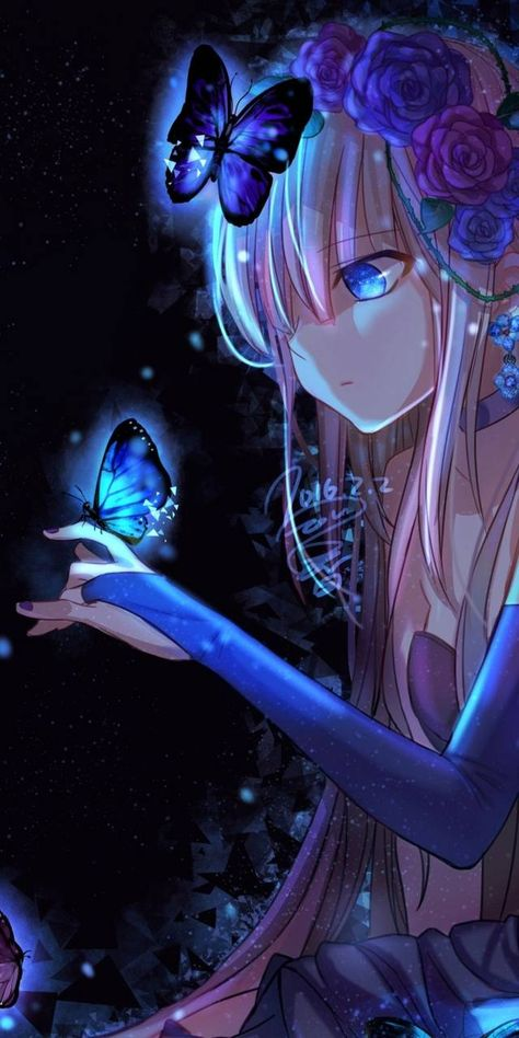 Download Anime girl butterfly wallpaper by H1naZak1 - 04 - Free on ZEDGE™ now. Browse millions of popular anime Wallpapers and Ringtones on Zedge and personalize your phone to suit you. Browse our content now and free your phone